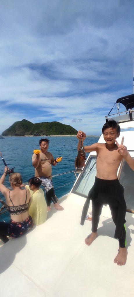 沖縄で釣り